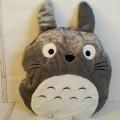 หมอนผ้าห่ม หมอนอิง ลาย โตโตโร่ (Totoro) ขนาดหมอน 13x13 นิ้ว (ขนาดผ้าห่ม 3.5 ฟุต)