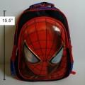 เป้ สะพายหลัง สไปเดอร์แมน(Spiderman) ขนาด 11.5x15.5 นิ้ว ตัวสไปเดอร์แมน เป็น 3 มิติ นูนออกมาค่ะ