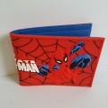 กระเป๋าสตางค์หนัง ลาย สไปเดอร์แมน Spiderman ขนาด 4.5x3.5 นิ้ว