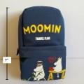 ซองดินสอซิป ใส่เครื่องเขียน ของกระจุ๊กกระจิ๊ก ได้คะ ลาย มูมิน Moomin ขนาด 4.5x7x2 นิ้ว