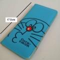กระเป๋าสตางค์หนังใบยาว สำหรับใส่บัตร ลาย โดราเอม่อน Doraemon ขนาด 9x17.5 ซม.
