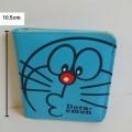 กระเป๋าหนัง สำหรับใส่บัตร ลาย โดราเอม่อน Doraemon ขนาด 9.5x10.5 ซม.
