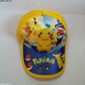หมวกแก๊ป ปีกาจู โปเกม่อน Pokemon ด้านหลัง ขยายได้นิดหน่อยค่ะ ขนาดรอบหมวก 22 นิ้ว สำหรับเด็ก