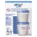 ถ้วยเวียสำหรับเก็บน้ำนม 180 ml - VIA Breastmilk Containers