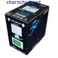 สายแลน LAN Cable, Category 5E Utp Lan Cable, 4 pair unscreened, blue, 305m only sold in box quantiti