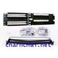 SL Series Patch Panel, Category 5E, Unshielded, 24-Ports, Straight, 1U