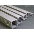 รางเก็บสายไฟแบบโปร่ง W60xH60xL2000 mm. Wire Duct Slotted Type PRI WD6060 สีเทา
