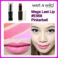 Wet n Wild Mega Last Lip Color E968 Pinkerball ลิปสติกเนื้อ Matte 3.3g. มีวิตามิน E,A, Q10