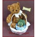 กระเช้าตุ๊กตาหมีวันแม่สีน้ำตาล (Mother Day)