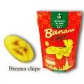 กล้วยกรอบ Banana Chips (บรรจุ 4 ถุง)