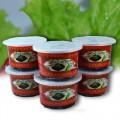 น้ำพริกเผาหวาน ขนาด 80 กรัม (บรรจุ 6 กระปุก)