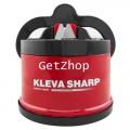 GetZhop ที่ลับมีด ลับของมีคม Kleva Sharp Knife Sharpener มหัศจรรย์อย่างดี - สีแดง