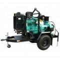 ปั๊มน้ำหอยโข่ง เครื่องยนต์ดีเซล CUMMINS 10quot; WPD-250C