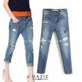 กางเกงยีนส์ขายาวสไตล์zara