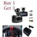 โปรโมชั่นพิเศษสุดคุ้มซื้อ 1 ได้ถึง 3 กล้องติดรถยนต์ GS8000L G-Sensor FULL HD 1080p ส่งฟรี EMS