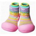 Attipas รองเท้าเสริมพัฒนาการเดินเด็ก รุ่น Attibebe - Pink