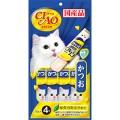 CIAO Stick  ขนมแมวสำเร็จรูปชนิดเปียก รูปแบบแท่ง รสปลาโอ 15 กรัม(4 ซองx6แพ็ค)4SC-82