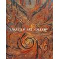 ขายภาพวาดสีน้ำมัน ภาพวาดตกแต่งห้อง ภาพวาดศิลปะไทยร่วมสมัย04 (Original)