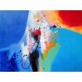 ขายภาพวาดสีน้ำมัน ภาพวาดตกแต่งห้อง Abstract06