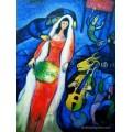 ขายภาพวาดสีน้ำมัน ภาพวาดรีโปรดักชั่น La Mariee