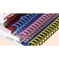 สันเกลียวพลาสติก PVC coilbinding ขนาด 38 มม. 10อัน/แพ๊ค
