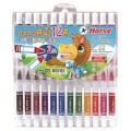 ปากกาสีน้ำ 12 สี (แพ็ค12ด้าม) ตราม้า H-220