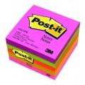กระดาษโน้ต นีออนคัลเลอร์ 3x3นิ้ว คละสี5เล่ม โพสต์-อิท 654-5PK