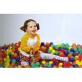 ลูกบอลพลาสติกหลากสีของ Apex ชนิดถุง 100 ลูก