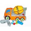 ของเล่นพลาสติกชุดถอดประกอบรถงานก่อสร้าง