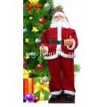ตุ๊กตาซานตาครอส โยกส่ายสะโพกพร้อมดนตรี ขนาดใหญ่สูง 120 cm