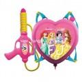 เป้ปืนฉีดน้ำทรงหัวใจ ลาย เจ้าหญิงดิสนี่ย์ Disney Princess - PR954