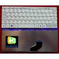 keyboards Notebook Acer Aspire One D255 D260 521 533, Gateway LT22 Matt / White