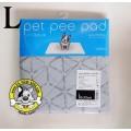Pet Pee Pad(รุ่นใหม่!! ผ้าสีเทา) แผ่นรองซับฉี่สุนัขแบบซักได้ไซส์ L (50 x 70 cm)