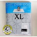 Pet Pee Pad(รุ่นใหม่..ผ้าสีเทา)แผ่นรองซับฉี่สุนัขแบบซักได้ไซส์ XL (60 x 90 cm)
