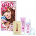 Palty สี  Sakura Creamy น้ำตาลอ่อนประกายชมพู  สีที่ได้จะชมพูน้อยกว่า Raspberry Macaron