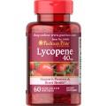 Puritan Lycopene 40 mg 60 Softgel ขาวอมชมพู ต้านอนุมูลอิสระ เหมือนทานมะเขือเทศ10ลูก