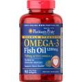 Puritan s Pride Omega 3 Fish Oil 1200 mg. 90 Softgel  บำรุงสมอง หัวใจแข็งแรง