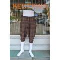 KW 0101 กางเกงน้าเน๊ก5 ส่วน (ลายสก๊อต)