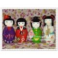 ตุ๊กตาไม้ญี่ปุ่น 3 ชิ้น