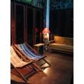 เก้าอี้ผ้าใบ เตียงผ้าใบชายหาด ทำจากไม้เต็ง