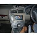 volvo S60 ติดtv dvd 2din zulex dvd-F657GP GPS ในตัว พร้อมทำกรอบหน้าสวยๆ