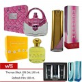 Laurelle London Rose 100 ml. + Love Me Love Me Not 100 ml. + Refresh Her 100 ml. แถมฟรี Thomas Black