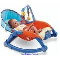 เปลโยก Newborn-to-Toddler Portable Rocker มีเสียงเพลง ส่งฟรี EMS