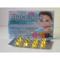 TK New Gluta 200000 Super Aura Active White [Solftgel]