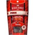 ของว่างทานเล่นไม่ทำให้อ้วน Highlands Jerky รสหมูอบแห้งพริกไทดำ(12 ซอง)