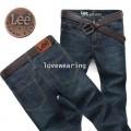 YM5705019 กางเกงยีนส์ชาย LEE แฟชั่นเกาหลี  (พร้อมส่ง)