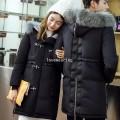 CW5909003 เสื้อโค้ทผู้หญิง ซิปหน้า แต่งเฟอร์ขน เกาหลี(พรีออเดอร์) รอ 3 อาทิตย์หลังโอนเงิน