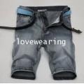 AM5909009 กางเกงยีนส์ขาสั้นผู้ชาย แฟชั่นเกาหลี 28-36 (พรีออเดอร์)รอสินค้า 3 อาทิตย์หลังชำระเงิน