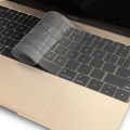 JCPAL New MacBook 12 inch FitSkin TPU Keyboard Protector-Clear