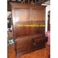 เฟอร์นิเจอร์ไม้สัก(Furniture)  ตู้,ตู้เสื้อผ้าไม้,   ตู้เสื้อผ้าไม้สัก 4 ลิ้นชัก